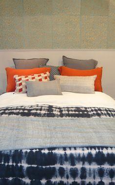 Inspiration Tye Dye Indigo-Bedroom Le Monde Sauvage
