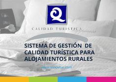 Curso online de Sistema de gestión de calidad turística para alojamientos de turismo rural #CursoOnline #CalidadTurística #TurismoRural