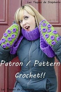 Octopus Scarf-Mittens - $3.00 by Les Tuques De Stephanie