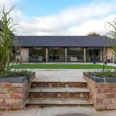 Home Farm, Shropshire Barn Conversion Exterior, Barn House Conversion, Barn Conversions, Metal Building Homes, Building A Pool, Building A House, Log Home Plans, Barn Plans, Modern Barn