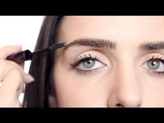 How To Create The Look of Straight Eyebrows | Beautezine