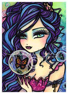 Butterfly Keeper (2009) - Hannah Lynn Art & Design