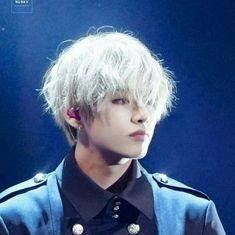 He looks like he's in an anime  BTS: V  Twt: taekook_unicorn