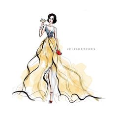 I bleed couture ❤ liked on Polyvore featuring snow white