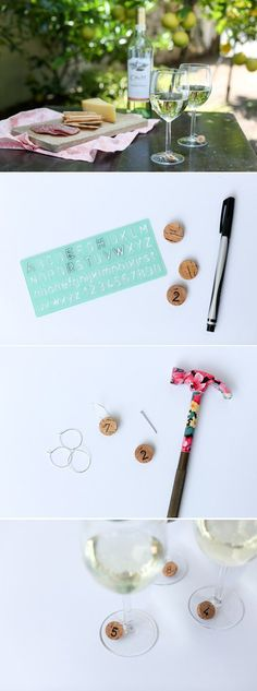 Easy Projects to Make and Sell | DIY Wine Cork Charms by DIY Ready at http://diyready.com/25-easy-crafts-to-make-and-sell/