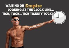 """Waiting On Empire Like Tick Tock Meme  Empireis back and better than ever but we still have to wait for Wednesday to enjoy the hip-hop drama series. Since the show's first season there have been shocking moments that keep us begging for more. There's one meme that sums up how we feel after every EmpireWednesday. The """"Tick Tock"""" meme!  The show's first season featured the unforgettable track """"Drip Drop"""" by Hakeem (Bryshere Y. Gray) featuring Tiana (Serayah McNeill). There has never been a…"""