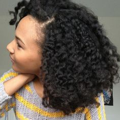 Detangling natural hair at the roots