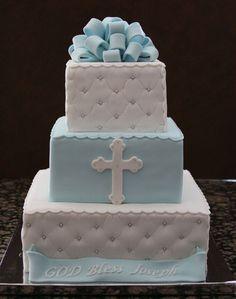 Bildergebnis für торт на крестины мальчику