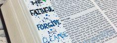 Bible Art Journaling Challenge Week 10 – Hand Lettering & Acrylic Ink