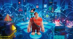 Ralph and Vanellope Ralph Breaks The Internet Wreck-it Ralph 2 Movie 2018 Internet Movies, Sem Internet, Movies Online, Streaming Hd, Streaming Movies, Finding Neverland, Disney Pixar, Film Disney, Disney Art
