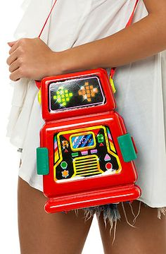 MKL Accessories Bag Robot in Multi Arcade, Save 20% off your order with Rep Code: PAMM6