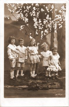 The children of Crown Prince Rupprecht of Bavaria.