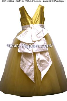 cc96a761f5 204 Best Yellow flower girl dresses images in 2019