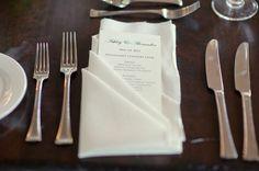 wedding napkins | Tied Bow Inspiration