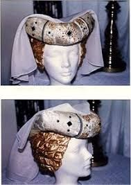 Image result for headwear for a houppelande