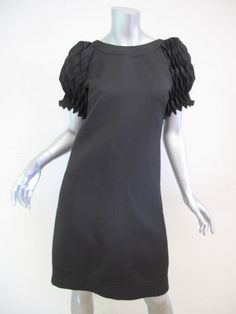 FENDI,Pleated Sleeve DRESS