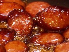 Sausages Sweet Sausages Recipe from Paula Deen. So SimpIe & I know my boys are going to LOVE this! Can be made in the crockpot too!Sweet Sausages Recipe from Paula Deen. So SimpIe & I know my boys are going to LOVE this! Can be made in the crockpot too! Sweet Sausage Recipes, Pork Recipes, Crockpot Recipes, Cooking Recipes, Polish Sausage Recipes, Broccoli Recipes, Meatball Recipes, Casserole Recipes, Recipies