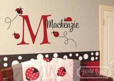Monogram Personalized Name and Initial Cute by WildEyesSigns