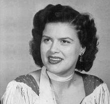 """Virginia Patterson Hensley (September 8, 1932 – March 5, 1963), known professionally as Patsy Cline, was an American country music singer. Part of the early 1960s Nashville sound, Cline successfully """"crossed over"""" to pop music. She died at age 30 at the height of her career in a private plane crash. She was one of the most influential, successful and acclaimed female vocalists of the 20th century.[1][2] Cline was best known for her rich tone, emotionally expressive and bold contralto…"""