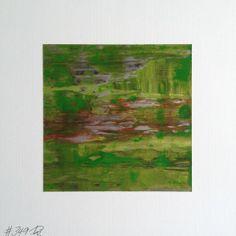 #349   square abstract painting (original)   acrylic on white board   size 9 cm x 9 cm   boardsize 15 cm x 15 cm   https://www.etsy.com/shop/quadrART