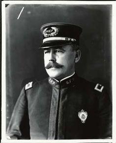 Police Chief William Biggy  -  c. 1907/08 -- San Francisco Police Department (San Francisco Public Library)