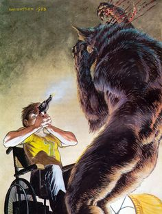 Bernie Wrightson Illustration for Stephen King's Cycle of the Werewolf