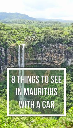 Mauritius is an island paradise, but you better rent a car!