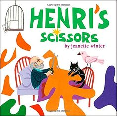 Scissors Henri's Scissors: tep into the colorful world of Henri Matisse and his magnificent paper cutouts!Henri's Scissors: tep into the colorful world of Henri Matisse and his magnificent paper cutouts! Henri Matisse, Matisse Kunst, Matisse Art, Matisse Cutouts, Art Books For Kids, Childrens Books, Art For Kids, Big Kids, Diego Rivera