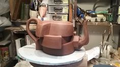 The three layered teapot, working  on a four layered one now.
