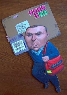 Art Project «Mail Me Art».  Envelope as an art object