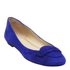 A little blue Blue Flats, Cobalt Blue, Nine West, Dress Up, Loafers, Ballet, Shoes, Fashion, Shoe