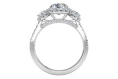 Round Cut Three-Stone Halo Diamond Engagement Ring in Palladium 0.75 CTW - Frontview1?w=640&h=430&fit=fill&fm=jpg&q=65&bg=fff