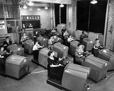 Escuela de conducción, 1953
