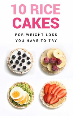 10 Healthy Rice Cake Recipe Ideas – Weight Loss Recipes With Rice Cakes