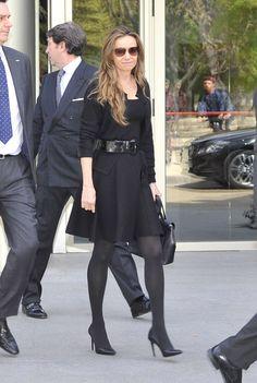 Hola!-Funeral of Crown Prince Kardam of Bulgaria, San Isidro, Spain, March 8, 2015-Kardam's wife Princess Miriam