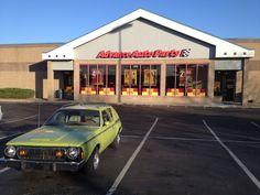 My 1975 AMC Gremlin loves the Deals at Advance Auto Parts. Classic Cars. American Motors.