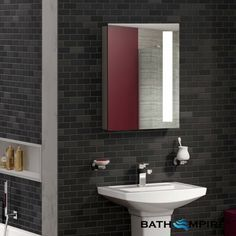 of bathroom cabinets at your fingertips! View types of bath cabinets & vanity units from cloakroom to wall hung & chrome bathroom cabinets. Bathroom Cabinet Organization, Bathroom Mirror Cabinet, Bathroom Storage, Mirror Cabinets, Bathroom Cabinets, Bathroom Furniture, Furniture Vanity, Backlit Mirror, Led Mirror