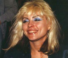 Blondie's Debbie Harry.