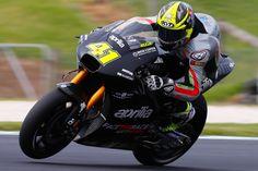 """MotoGP - : """"Tive receio da mudança para a Aprilia"""""""