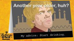 19 'Game of Thrones' Greeting Cards to Kill With Kindness