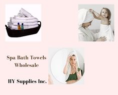 Buy Hair & Skin Absorbent Bath Towels for Spa from HY Supplies Inc.! #bestspabathtowels #spabrandbathtowels #spacoloredbathtowels #elegancespabathtowels