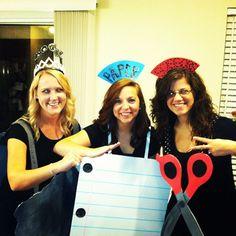Rock Paper Scissors Halloween costume