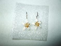 Michael Michaud Silver Seasons Orange Blossom Earrings Wire | eBay