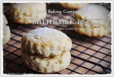 Butter milk biscuit Baking Company, Buttermilk Biscuits, Hamburger, Bread, Food, Shortbread Cookies, Eten, Hamburgers, Bakeries