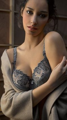 PRIMADONNA AUTUMN WINTER 2015 Deauville in Winter #Grey #Lingerie #Underwired #Bra