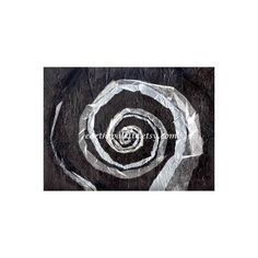 Christmas, Paper Collage, 9x12 Mixed Media, Black and White, Abstract,... (€33) ❤ liked on Polyvore featuring home, home decor and wall art