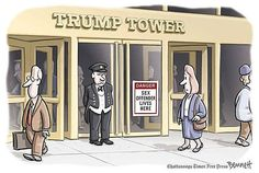 Best Donald Trump Cartoons: Due Warning