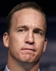 """""""I truly enjoyed being your quarterback."""" ~ Peyton Manning. That Is the saddest face :("""