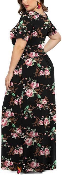 Women Short Sleeve Casual L-6XL Plus Size Maxi Dress with Pockets Women Short Sleeve Casual L-6XL Plus Size Maxi Dress with Pockets. Women's Plus Size Tops Striped Raglan Tee Shirts Casual Tunics Blouses New Curvy And Plus Size Women Outfit For Summer 2020. plus size clothing and all trending fashions for chubby and curvy girls. best outfits for plus size | plus sized fashion | style plus size | plus size outfits | womens fashion plus size | outfits plus size | fashion for plus size | plus… Plus Size Jeans, Plus Size Tops, Plus Size Women, Plus Size Maxi Dresses, Plus Size Outfits, Jean Outfits, Cool Outfits, Clothing Websites, Raglan Tee