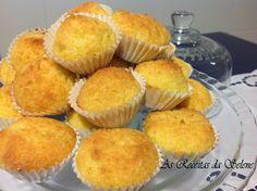 Bolinhos de Côco na Yammi | As Receitas da Selene Muffins, Easy Meals, Easy Recipes, Breakfast, Food, Portugal, Raw Salad Dressings, Tailgate Desserts, Pastel Cakes
